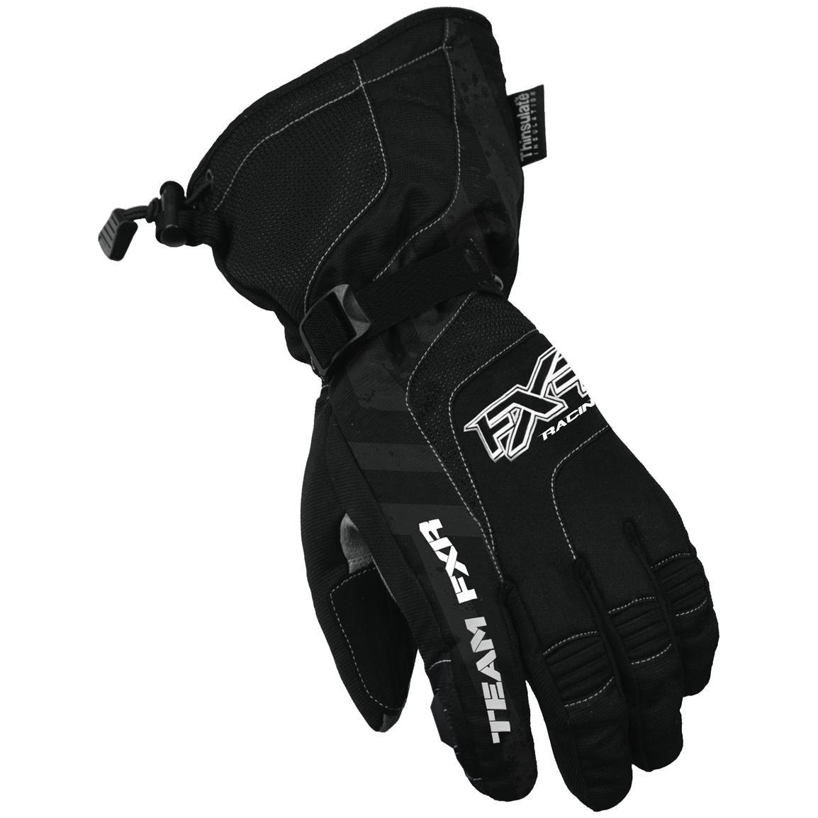 2db9a0df4903 Перчатки для снегохода Fxr Backshift M, мужские, черные в Москве ...